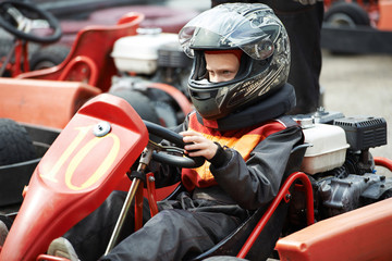 Children karting