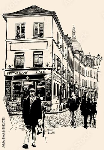 Montmartre Paris - 58324753