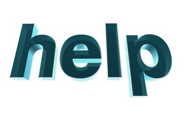 3d Help text