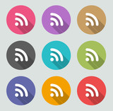 Rss icon - Flat designs