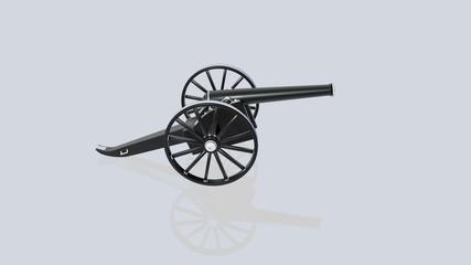 пушка.