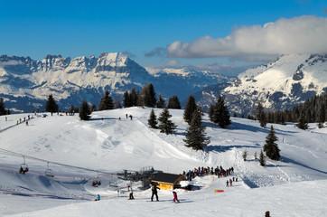 Chamonix ski resort