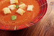 delicious cold Gazpacho soup