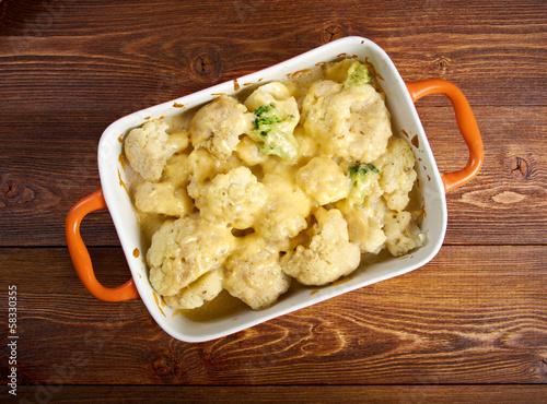 Vegetable Cauliflower gratin