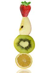 Fragola, Mela, Kiwi e Limone