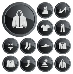 Clothes button set