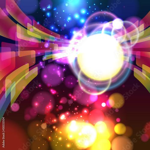Abstract lights background. © OlgaYakovenko