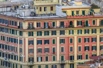 Roma, centro storico, architettura