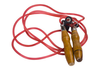 Close-up of a jump rope