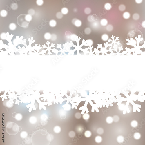 Christmas background with lights elements