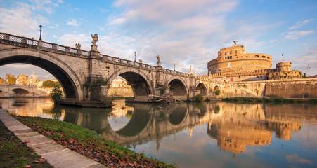 Castel Sant'Angelo e il Fiume Tevere, Roma