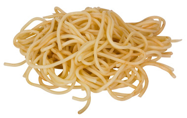 Close-up of cooked spaghetti