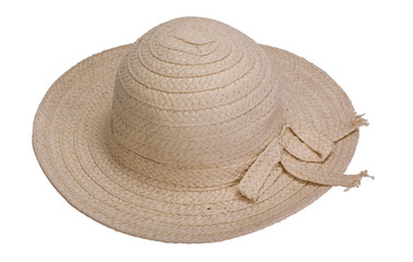 Close-up of a straw hat