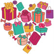 heart of presents