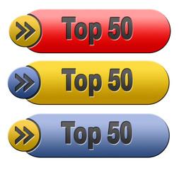 top 50 button