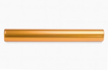 Close-up of a relay baton