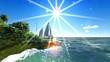 Tropical adventure in paradise