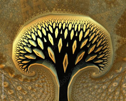 Obraz abstract tree
