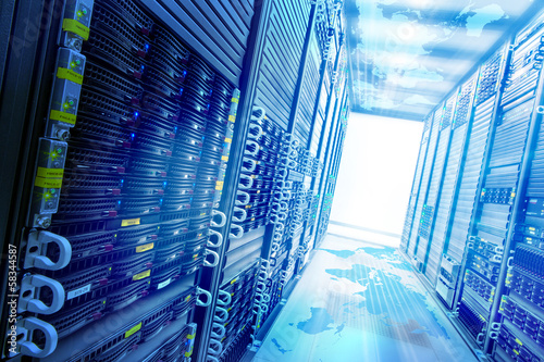 Leinwanddruck Bild Concept web storage.