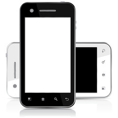 SMARTPHONE BLACK WHITE