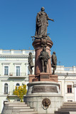 Monument to Odessa founders and Catherine the Great