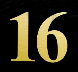 Golden 16