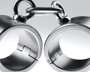 hard steel handcuffs