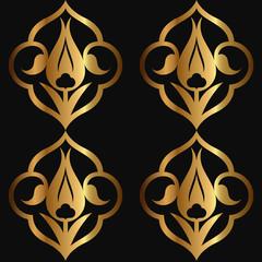 Altın Rumi Desen