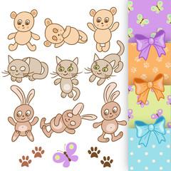 Baby animal set