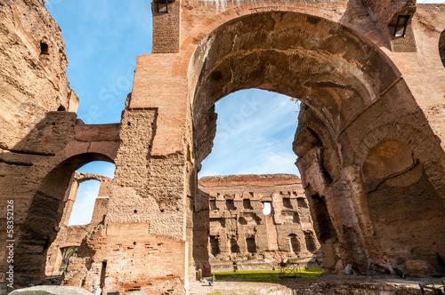 Papiers peints Ruine Thermes de Caracalla