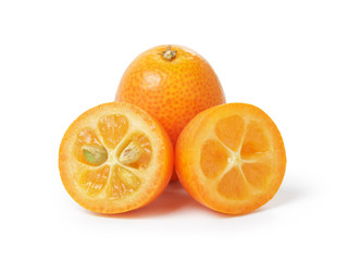 ripe kumquat fruits