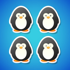 Vector penguins set