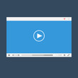 Flat video player for web and mobile apps