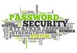 """Word Cloud """"Password Security"""""""