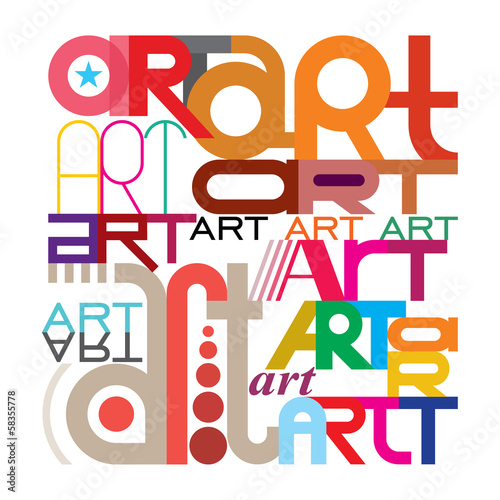 Art - text design