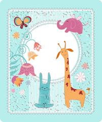 Greeting card Birthday
