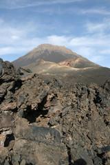 Lava and volcano