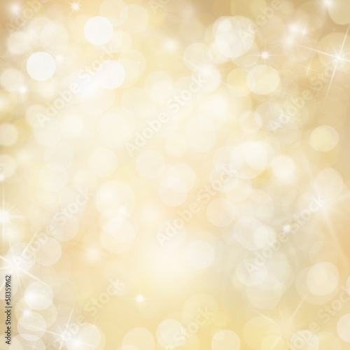 golden stars background magical