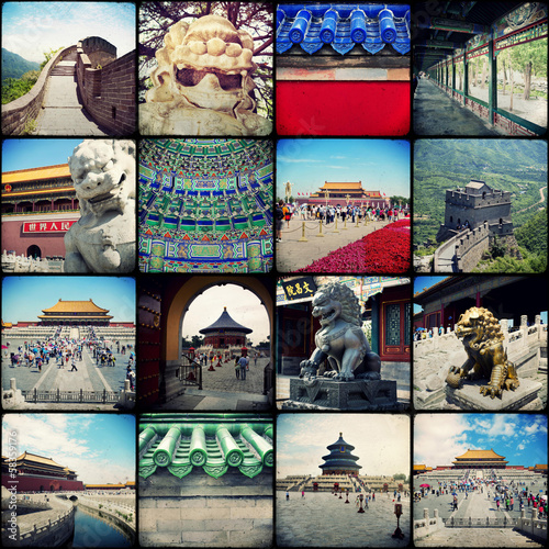Beijing - Collage