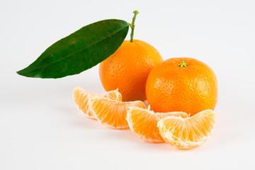 Composizione di mandarini