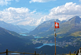 Engadin in der Schweiz