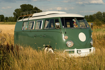 old camping bus