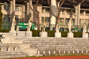 Stadio dei Marmi in Rome, Italy,