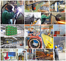 Industrie Jobs Collage
