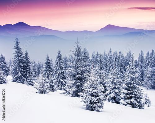 Winter Fototapeten Gebirge Fixar De