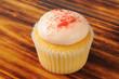 Strawberry cream cupcake