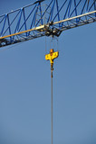 Construction Crane and Blue Sky