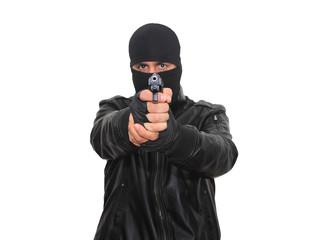 Shooting criminal