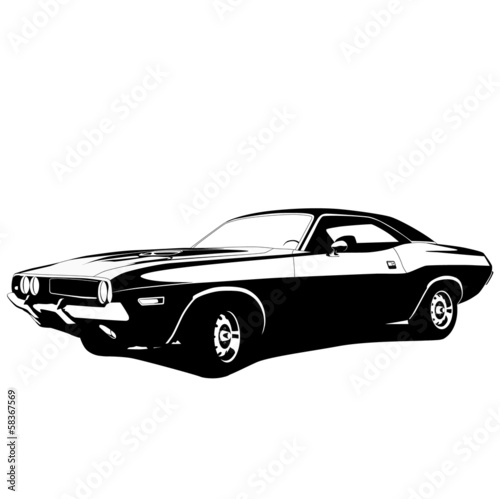 muscle car profile