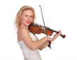woman the violinist